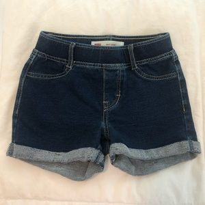 Levi - Little Girls Knit Short